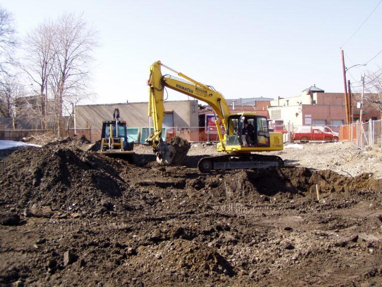 Clean Properties soil excavation